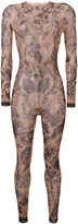 DSQUARED2 tattoo print bodysuit