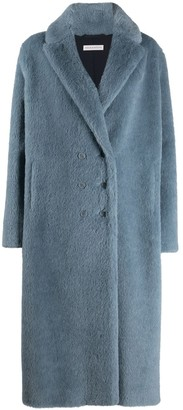 Inès & Marèchal Wool Double-Breasted Coat