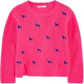 Billieblush Embroidered sweater