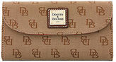 Dooney & Bourke Madison Signature Continental Clutch