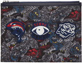Kenzo Black Multi Icons Pouch