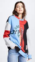Sjyp Multi Patched Sweatshirt