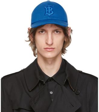 Burberry Blue TB Monogram Baseball Cap