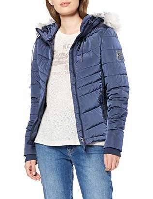 Superdry Women's Luxe Fuji Jacket,12 (Size: Medium)
