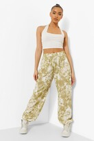Thumbnail for your product : boohoo Printed Joggers