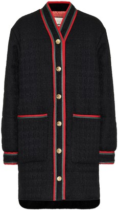 Gucci Wool-tweed coat