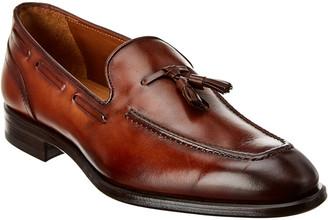 Antonio Maurizi Tassel Leather Loafer
