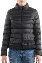 T Tahari Quilted Packable Peplum Jacket
