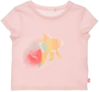 Billieblush Emebllished Cotton Jersey T-Shirt