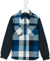 Diesel checked shirt - kids - Cotton - 8 yrs