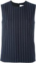 Victoria Victoria Beckham - pinstripe tank top - women - Silk/Polyamide/Polyester/Wool - 10
