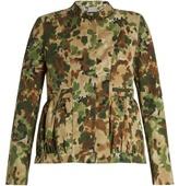 Rachel Comey Camouflage-print collarless jacket