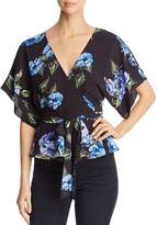 Yumi Kim That's a Wrap Floral-Print Top