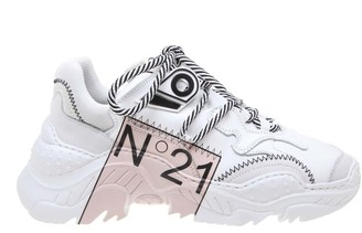 N°21 N 21 Sneakers In White Fabric