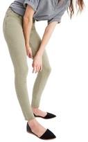 Madewell Women's 9-Inch High-Rise Skinny Jeans: Raw-Hem Garment-Dyed Edition