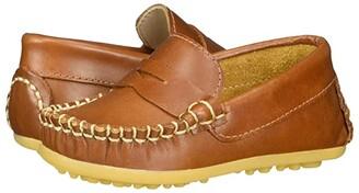 Elephantito Alex Drivers (Toddler) (Natural) Boy's Shoes