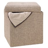 Dormify Kennedy Single Collapsible Storage Ottoman