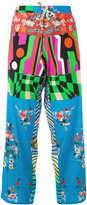 Pierre Louis Mascia Pierre-Louis Mascia - Adanas trousers - women - Silk - S
