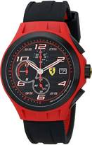 Ferrari Men's 0830017 Lap Time Analog Display Quartz Watch