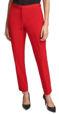 Calvin Klein Petite Slim-Leg Pants