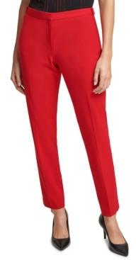 Calvin Klein Slim-Fit Ankle Pants