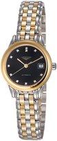 Longines Les Grandes Classiques Flagship Automatic Diamond Markers Transparent Case Back Women's Watch