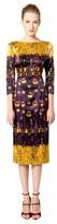 L'Wren Scott Printed Silk Dress
