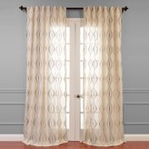 EFF Suez Embroidered Sheer Curtain - 50'' x 84''
