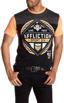 Affliction Short Sleeve Graphic Print Tee