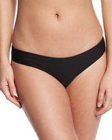 Onia Lily Textured Solid Hipster Swim Bottom