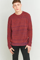 Shore Leave By Urban Outfitters Orange Rainbow Twist Jumper