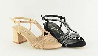 The Divine Factory Women's Lilyane Ankle Strap Sandals