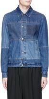 McQ by Alexander McQueen Patchwork denim shirt jacket