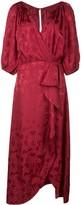 Saloni Olivia wrap dress