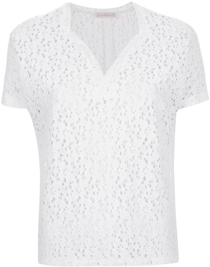 Cacharel lace blouse