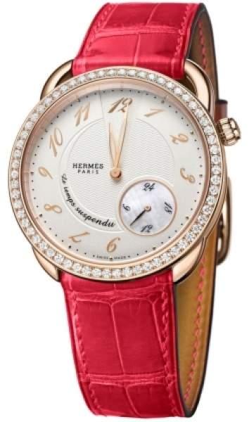 Hermes Arceau Le Temps Suspendu GM 38mm Ladies watch