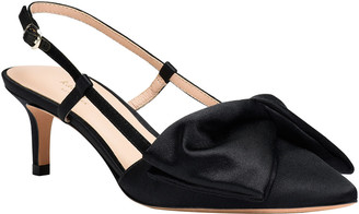 Kate Spade Marseille Satin Bow Slingback Pumps