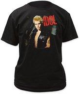 Impact Men's Billy Idol Album Cover T-Shirt