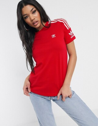 adidas Locked Up t-shirt in red