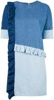 SteveJ & YoniP Steve J & Yoni P - patchwork denim dress - women - Cotton - XS