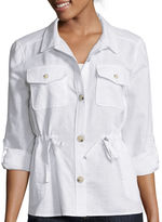 Liz Claiborne Long-Sleeve Anorak Jacket