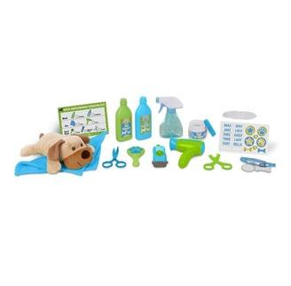 Melissa & Doug Wash and Trim Dog Grooming Playset
