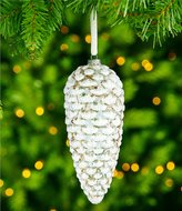 Southern Living Nostalgic Noel Collection Snowy Pinecone Ornament