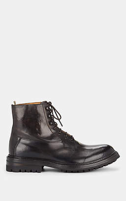 Officine Creative Men's Leather Boots - Dk. brown