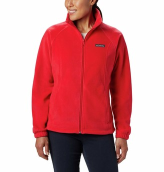 Columbia Women's Plus Size Benton Springs Full Zip Jacket Soft Fleece with Classic Fit