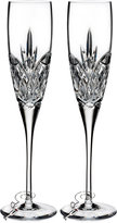 Waterford Love Forever Flute Pair