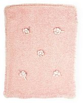 Bunnies by the Bay Pretty Posy Blanket, Pink by
