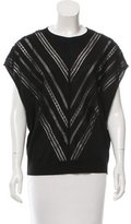 ADAM by Adam Lippes Sleeveless Embroidered Wool Sweater w/ Tags