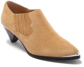 Joie Baler Suede Western Ankle Bootie