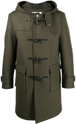 MACKINTOSH Weir hooded duffle coat
